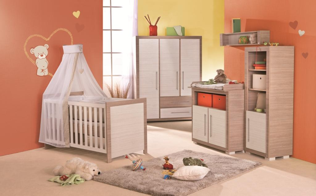 babyzimmer kinderzimmer liah roba 3tlg ebay. Black Bedroom Furniture Sets. Home Design Ideas