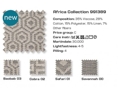 Farben Bezug Africa Collection PGC