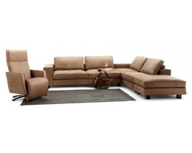 Armteile links: Sofa 3 Sitzer XL links + Sofa 3 Sitzer Standardtiefe