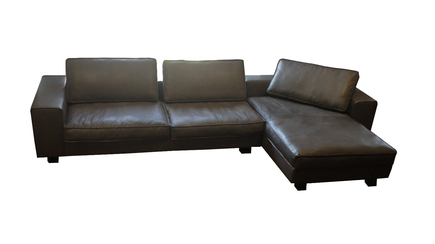 Schlafsofa ecksofa leder  TM Collections Long Beach Sofa. hochwertige Leder Couches bei ...
