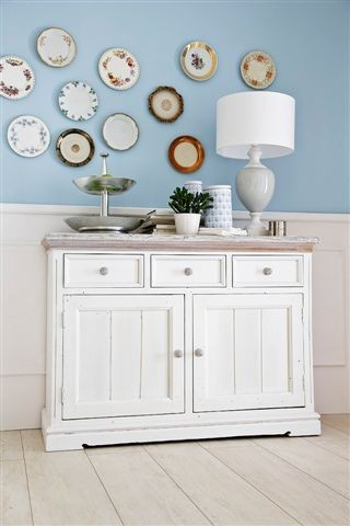 vintage landhausm bel sideboard 1 opus weiss m bel g nstig online kaufen. Black Bedroom Furniture Sets. Home Design Ideas