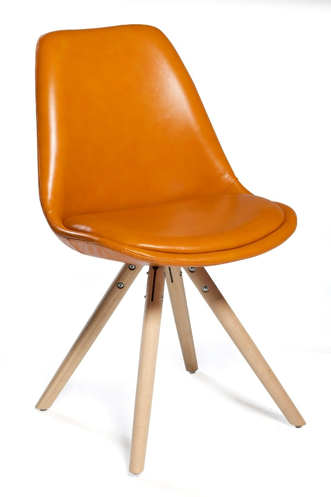 Retro design stuhl orso danform danform bei for Design stuhl orange