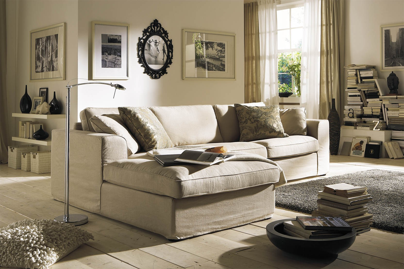 hussen ecksofa vom spezialisten primavera. Black Bedroom Furniture Sets. Home Design Ideas