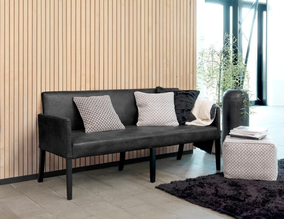 tisch bank mit lehne gepolstert. Black Bedroom Furniture Sets. Home Design Ideas