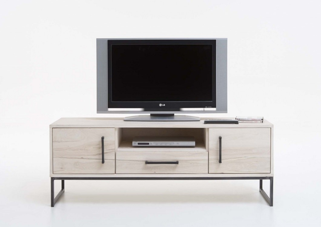 bodahl champagne tv schrank eiche roheisen. Black Bedroom Furniture Sets. Home Design Ideas