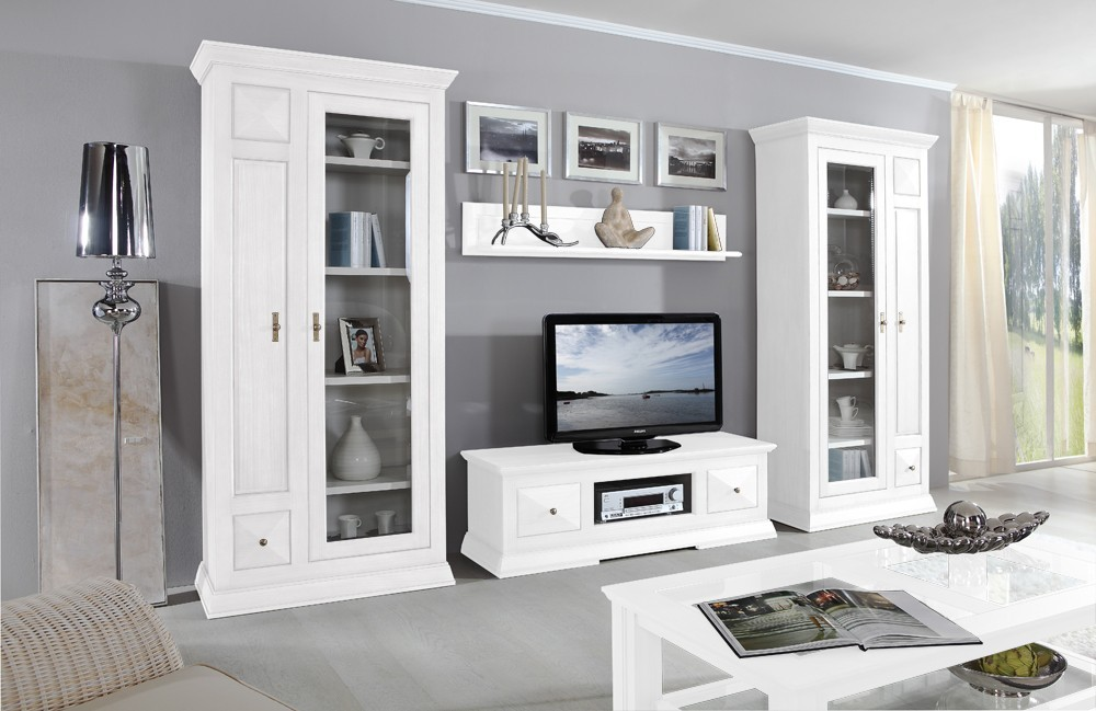 wohnwand margalita no 1 massivholzm bel aus pinie m bel g nstig kaufen bei. Black Bedroom Furniture Sets. Home Design Ideas