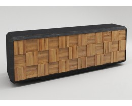 Retro Sideboard 70er Jahre Dialma Brown
