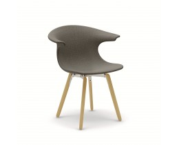Infiniti Loop Wooden Legs Upholstered