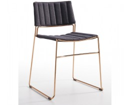 Midj Design Stuhl Gold Slim