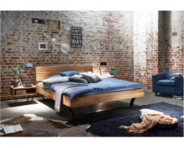Bett Industrielook Modern Sleep