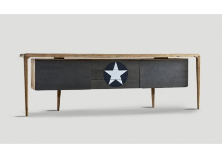 Industriedesign Sideboard Dialma Brown