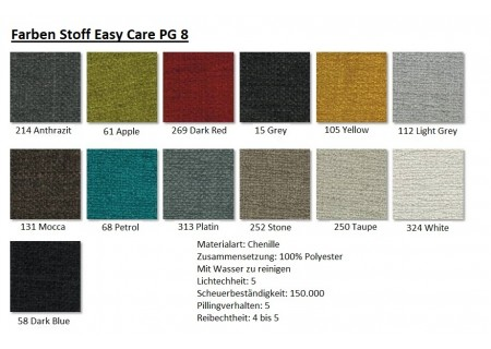 Farben Stoff Easy Care PG8