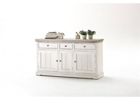 vintage landhausm bel sideboard 2 opus weiss m bel g nstig online kaufen. Black Bedroom Furniture Sets. Home Design Ideas