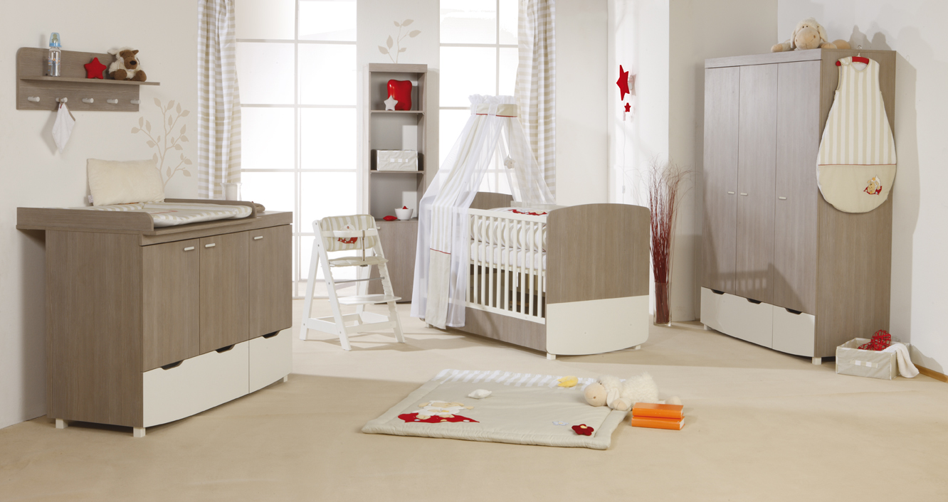 kinderzimmer babyzimmer komplett roba theresa 3tlg ebay. Black Bedroom Furniture Sets. Home Design Ideas