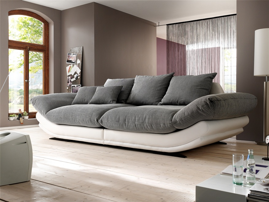 kleine blume am see new look polstermoebel rose no1 big mega sofa. Black Bedroom Furniture Sets. Home Design Ideas