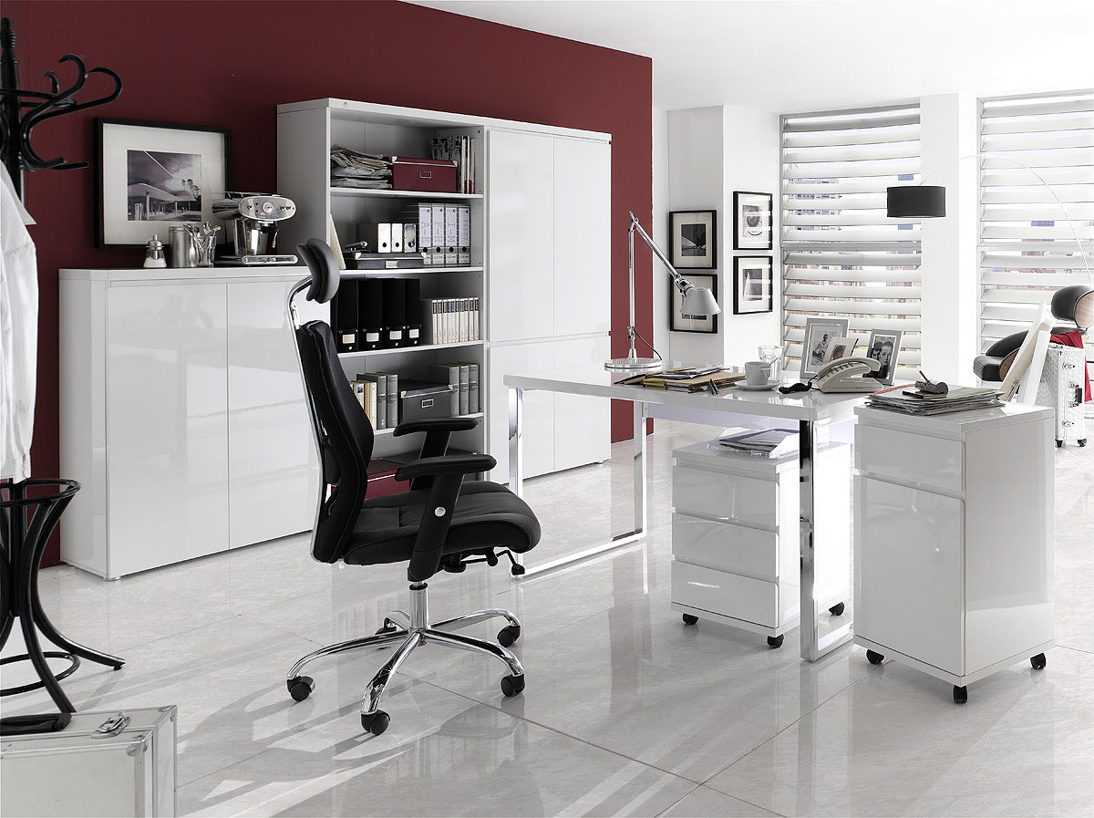 b roschrank aktenschrank blanco ii hochglanz weiss lackiert ebay. Black Bedroom Furniture Sets. Home Design Ideas