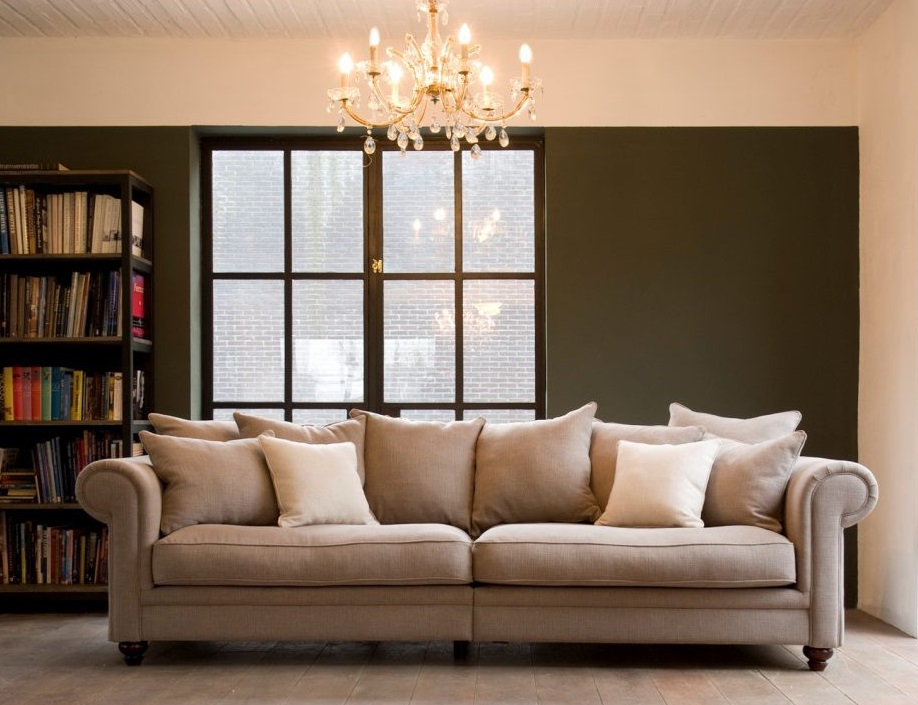 primavera sofa klassiker mit husse. Black Bedroom Furniture Sets. Home Design Ideas